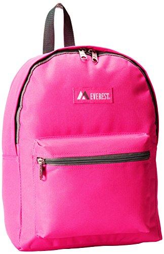 Everest Basic Backpack, Hot Pink, One Size