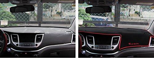1pcs Premium DashMat Dash Carpet Original Dash Covers Dashboard Cover Custom Fit for Honda CRV CR-V 2017 2018 2019 2020