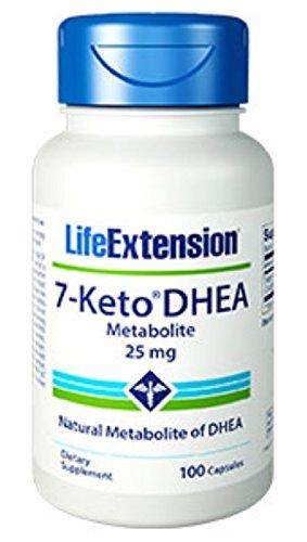 Life Extension, 7-KETO DHEA 25 MG 100 CAPSULES ( Multi-Pack)