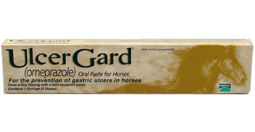 Merial UlcerGard (omeprazole) Oral Paste Syringe (2.28 gm) 28 PACK