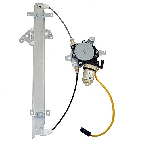 (Passengers Front Power Window Lift Regulator with Motor Assembly Replacement for Infiniti Nissan 8072040U10)