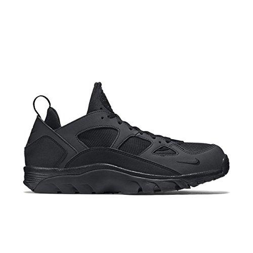 Nike Air Trainer Huarache Low, Zapatillas de Running para Hombre Negro (Black / Black-Black)