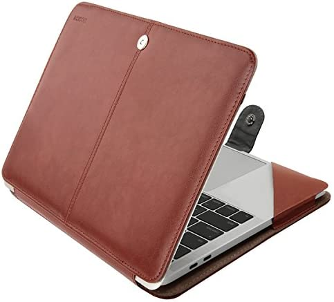 MOSISO Leather Compatible MacBook Protective
