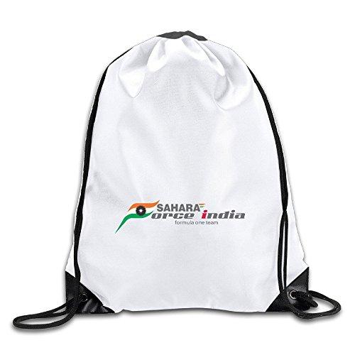 EUNICORN SG Force India Snapback Gym Sack Bag Drawstring Backpack Sport Bag - Oakley Sg