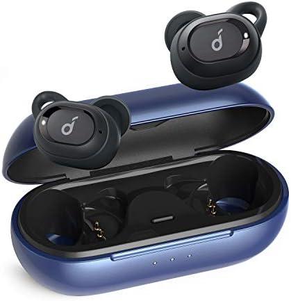 Soundcore Cuffie Bluetooth Sport Anker Liberty Neo, Auricolari Bluetooth 5 Leggere, Impermeabilità IPX7, Suono Premium con Bassi Roboanti, Massima Aderenza, Chiamate Stereo, Cancellazione Rumore