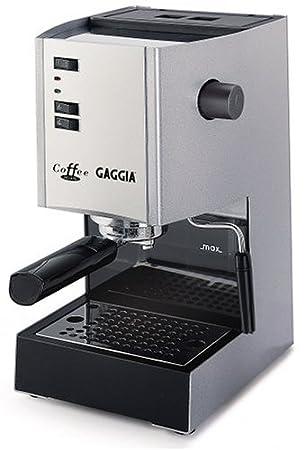 Amazon.com: Gaggia 97001 Cafetera Espresso machine Deluxe ...