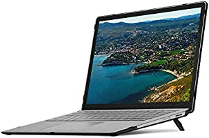 Microsoft Surface Book Computer 13.5 Hard Shell Case Snap On Cover TPU Blue