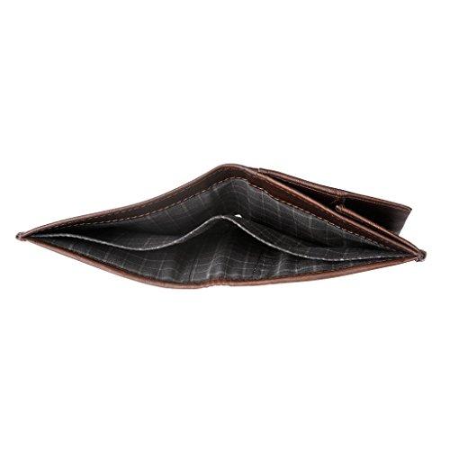 Doble Billetes De Antica 8 Crédito De Hombres Tarjeta De Tenedores De Toscana 2 Para Monedero Los Piel Con Pequeña Pliegue En Titular Cartera Castaño De Y La fr0TSqf