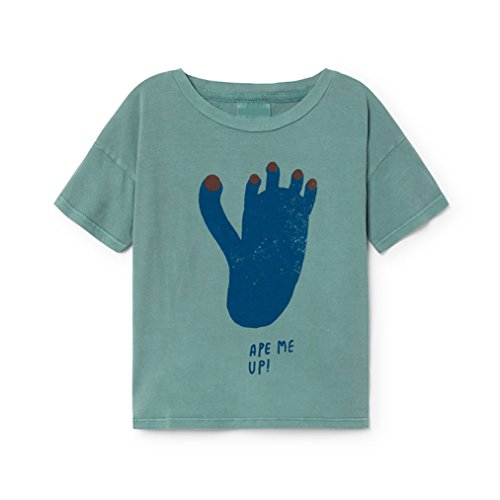 Kang Mei in Stock Loose Style Girls Boys T-Shirts Bobo Choses 2018 Cotton Soft Summer