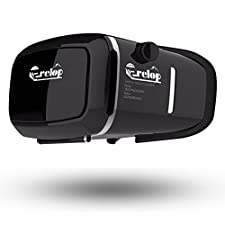 VICTONY Frelop VR Headset Virtual Reality Mobile Phone 3D Movies for iPhone 6s/6 plus/6/5s/5c/5 Samsung Galaxy s5/s6/note4/note5 and Other 4.7
