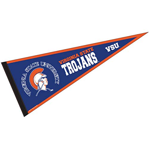College Flags and Banners Co. Virginia State Trojans Pennant Full Size Felt