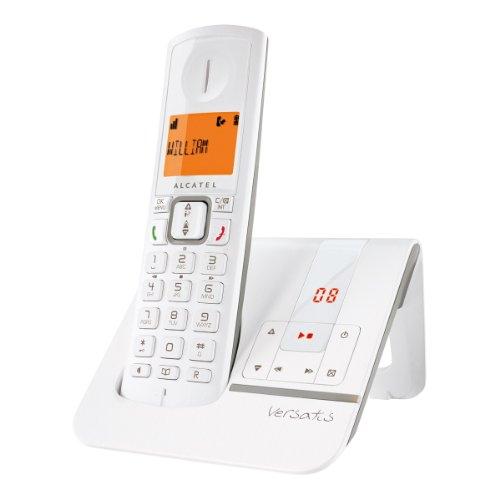 Alcatel Versatis F 230 Schnurlostelefon mit Anrufbeantworter (DECT)