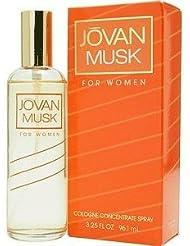 Jovan Musk FOR WOMEN by Jovan - 0.375 oz COL Spray