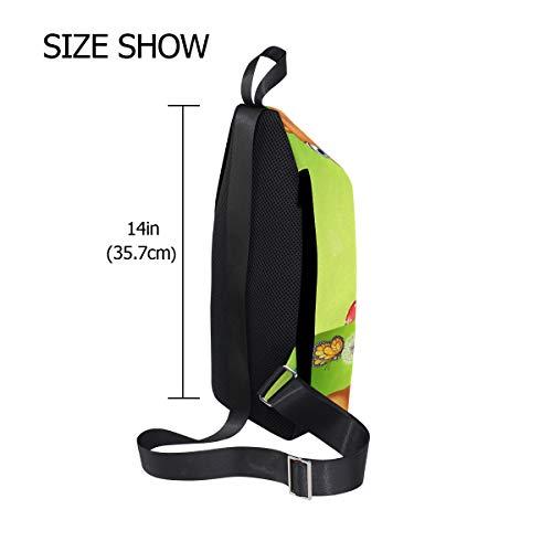 Shoulder Bag Backpack Men Crossbody One Bags Deer amp; Women For Bennigiry Chest Sling 1wn0q8XnxT