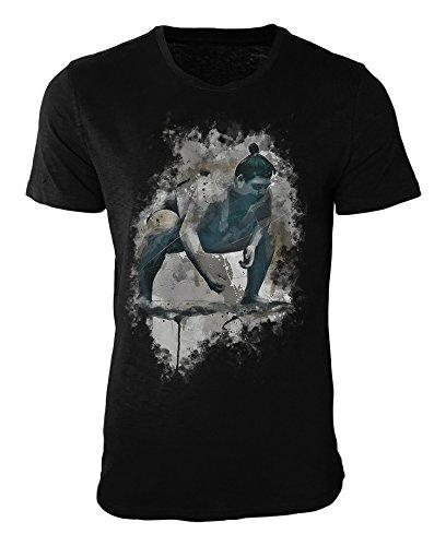 Sumo Ringer T-Shirt stilvolles Designershirt von Paul Sinus