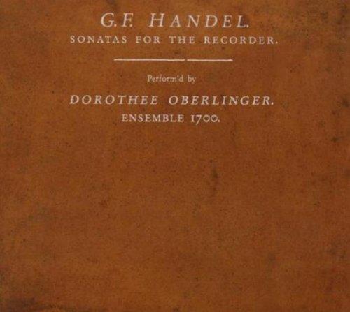 SACD : HAENDEL,GEORG FRIEDRICH - Sonatas For The Recorder (SACD)