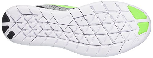 Nike Mens Free Rn Pure Platinum/Elctrc Grn/Anthracite Running Shoe 8 Men US by Nike (Image #3)