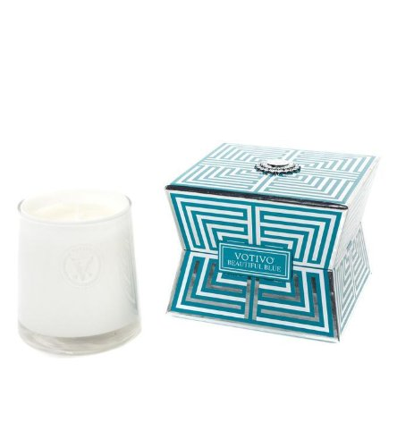Soziety by Votivo Candle Beautiful Blue 503ZC by Soziety