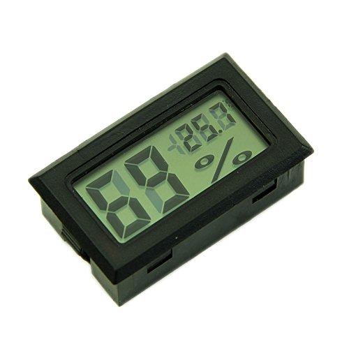 ystd hygrometer thermometer digital lcd temperature. Black Bedroom Furniture Sets. Home Design Ideas