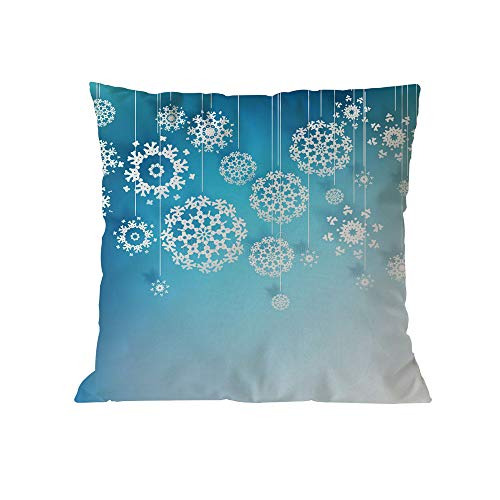 Seaintheson Christmas Pillow Cover Sale, Christmas Cotton Soft