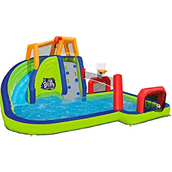 Blast zone hydro rush inflatable water park - Amazon inflatable swimming pool toys ...