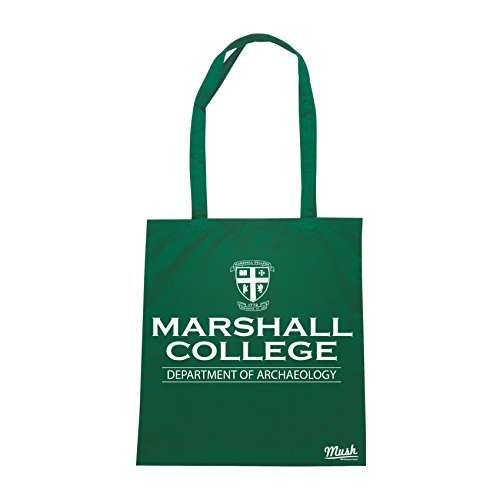 Borsa MARSHALL COLLEGE INDIANA JONES - Verde Bottiglia - FILM by Mush Dress Your Style