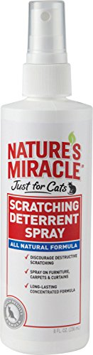 Nature's Miracle Products CNAP5778 Just for Cats No Scratch Deter Spray, 8-Ounce
