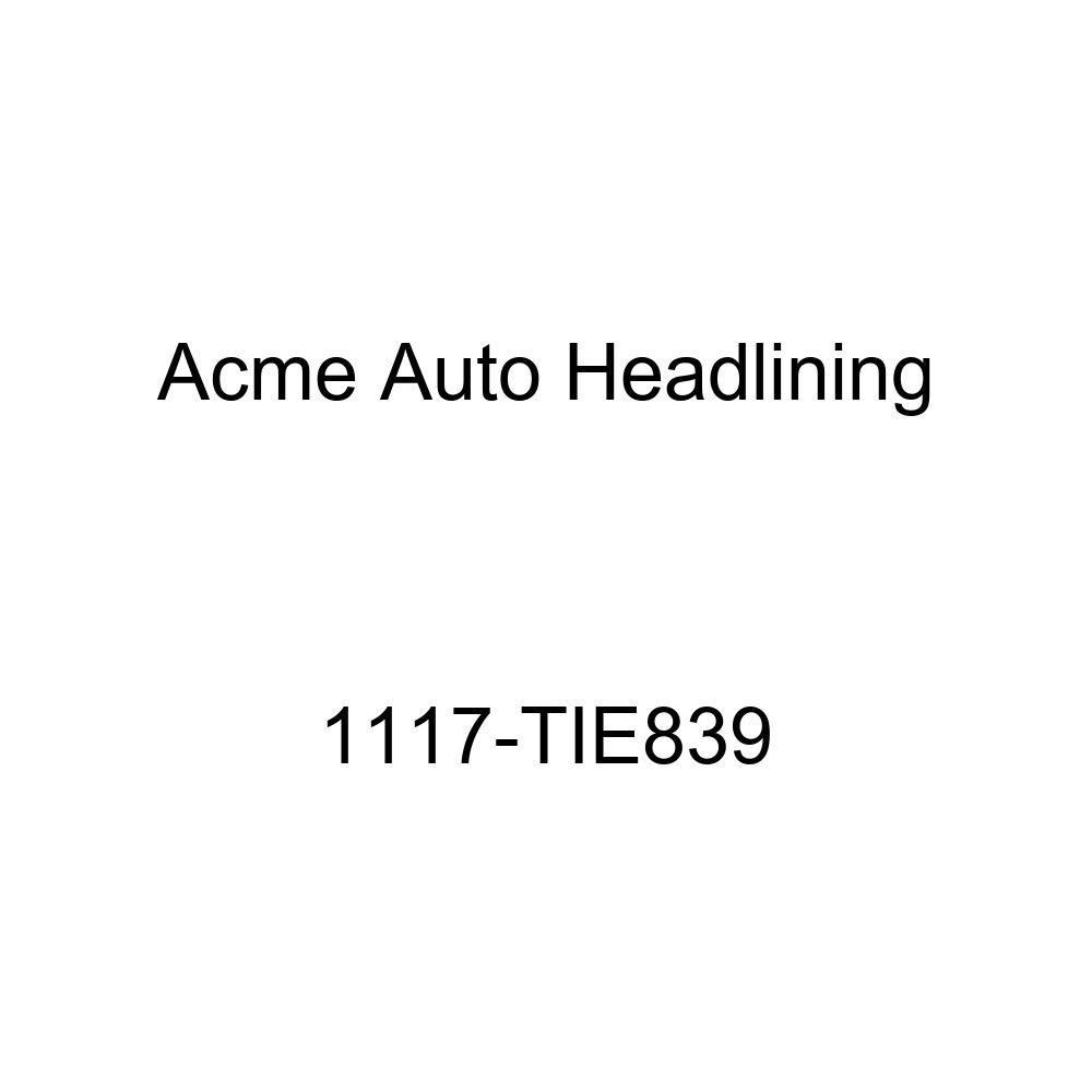 Acme Auto Headlining 1117-TIE839 Metallic Blue Replacement Headliner 1941-49 Buick, Cadillac, Oldsmobile, Pontiac 4 Dr Sedan - 8 Bows