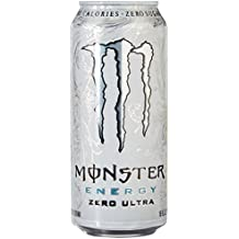 Monster Energy, Zero Ultra, 16 Ounce (Pack of 24)
