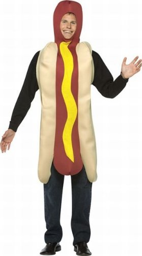 Adult Hot Dog Costume - One Size