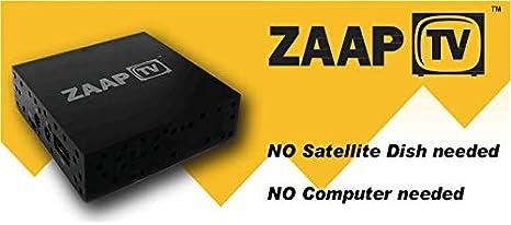 zaaptv hd509 N II IPTV Receptor Caja Árabe, Tã ¼ rkische emisor y ...