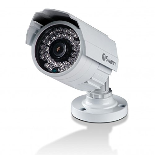 Swann SWPRO-842CAM-US 900TVL High-Resolution Security Camera, White/Gray (Purpose Recorder Time Multi Electronic)
