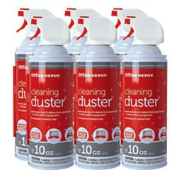 Office Depot Cleaning Duster, 10 Oz., Pack Of 6, UDS-10MS-P6