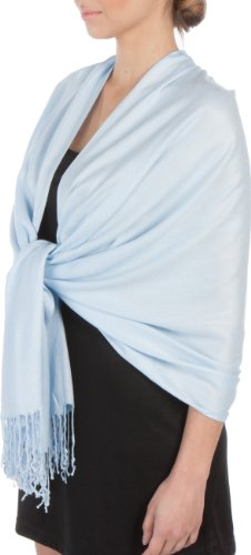 Sakkas-Silky-Soft-Solid-Pashmina-Feel-Shawl-Wrap-Stole