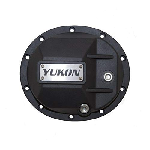 Yukon Gear yhcc-m35 Black Hardcore Differential Cover for Dana 35