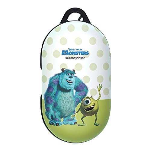 Monsters, Inc, Compatible with Galaxy Buds Case Galaxy Buds Plus (Buds+) Case Protective Hard PC Shell Cover - Movie Mike Sulley