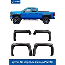 """Tyger Auto TG-FF8C4128 For 2014-2018 Chevy Silverado (ONLY Fit Fleetside Models with 78.8"""" & 97.8"""" Bed) 