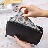 All-in-One Leather Cash Envelopes Wallet with 12