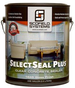 L.M. Scofield - SelectSeal Plus - Waterborne Concrete Sealer - 5 Gallon Pail by L.M. Scofield