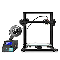 "SainSmart CR-10 Mini Creality 3D Printer Semi Assembled Aluminum with Heated Bed Printing Size 11.8"" x 8.66"" x 11.8"" by SainSmart"