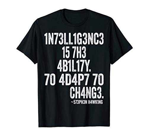 Intelligence Is The Ability To Adapt To Change-Science ()