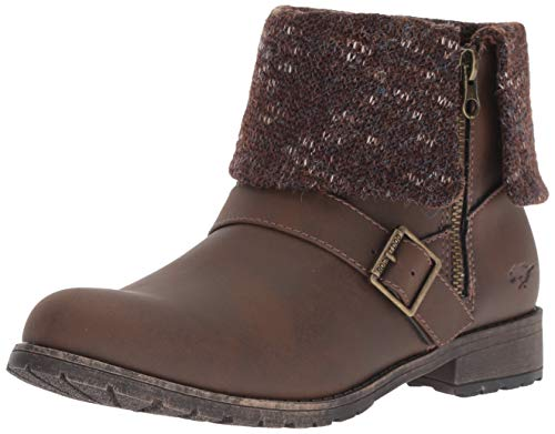 Rocket Dog Women's Bentley Graham PU Finland Fabric Ankle Boot, Brown, 11 M US