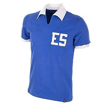COPA Football - Camiseta Retro El Salvador 1982 (M): Amazon.es: Deportes y aire libre