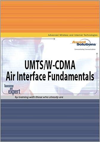 UMTS/W-CDMA Air Interface Fundamentals: Award Solutions Inc