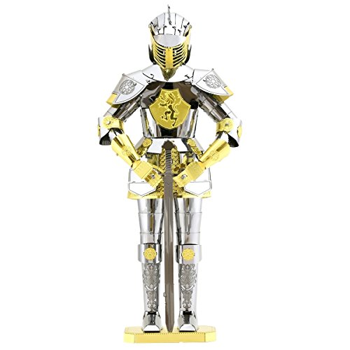 Fascinations Metal Earth European Knight Armor 3D Metal Model Kit