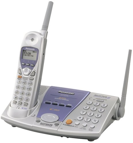 Panasonic KX-TG2700S 2.4 GHz DSS Expandable Cordless Speakerphone with Caller ID