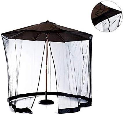 蚊帳、傘屋外テーブル画面、ジッパードアとポリエステルメッシュネット付き蚊帳メッシュガーデン、屋外パティオキャンプ傘、直径335高さ230cm(117.5ft)