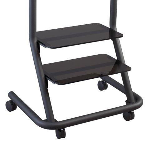 (PAS100 Presenters Cart Acrylic Shelf Computer, Electronics)