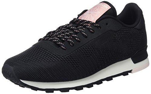 black Femme Classic Basses pale Noir Sneakers Pink Pink Reebok chalk Flexweave chalk c1YqII