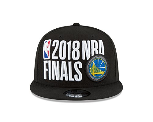 Conference Champion Cap - New Era Golden State Warriors 2018 Western Conference Champions Locker Room 9FIFTY Snapback Adjustable Hat – Black